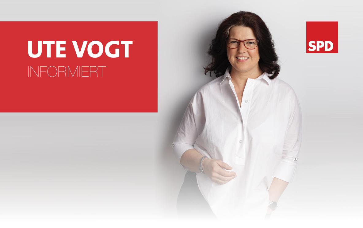 Ute Vogt informiert
