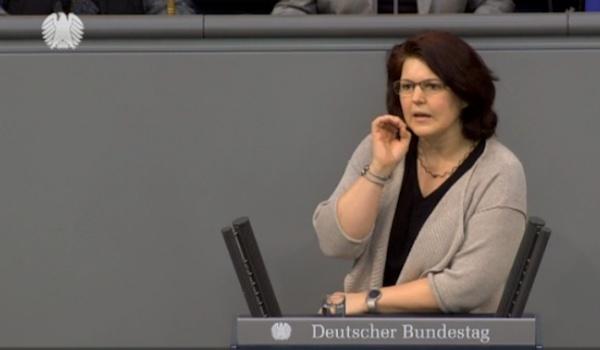 Ute Vogt - Aktuelle Stunde im Deutschen Bundestag
